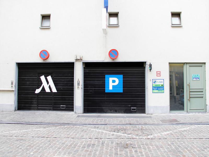 Parking Bourse Marriott Hotel - BePark Your parking solution 5cef01341226