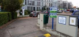 Parking Helmet Chaussée de Haecht