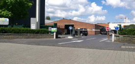 Parking Evere Colruyt Louvain