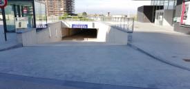 Parking Nieuwpoort beach