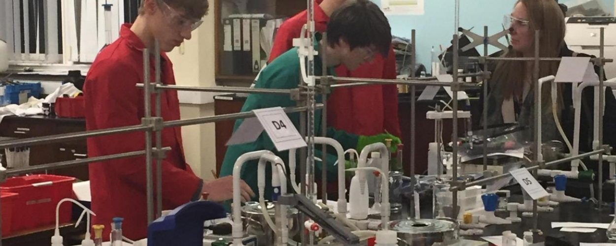 School explodes for Parkside science students