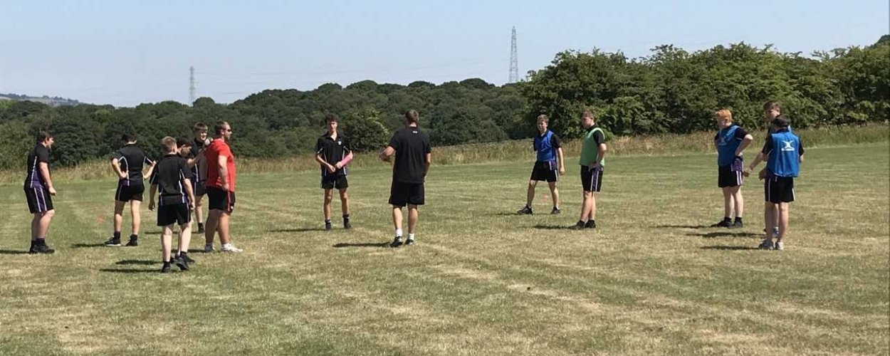 Parkside rugby players get ready for a career with the whistle!