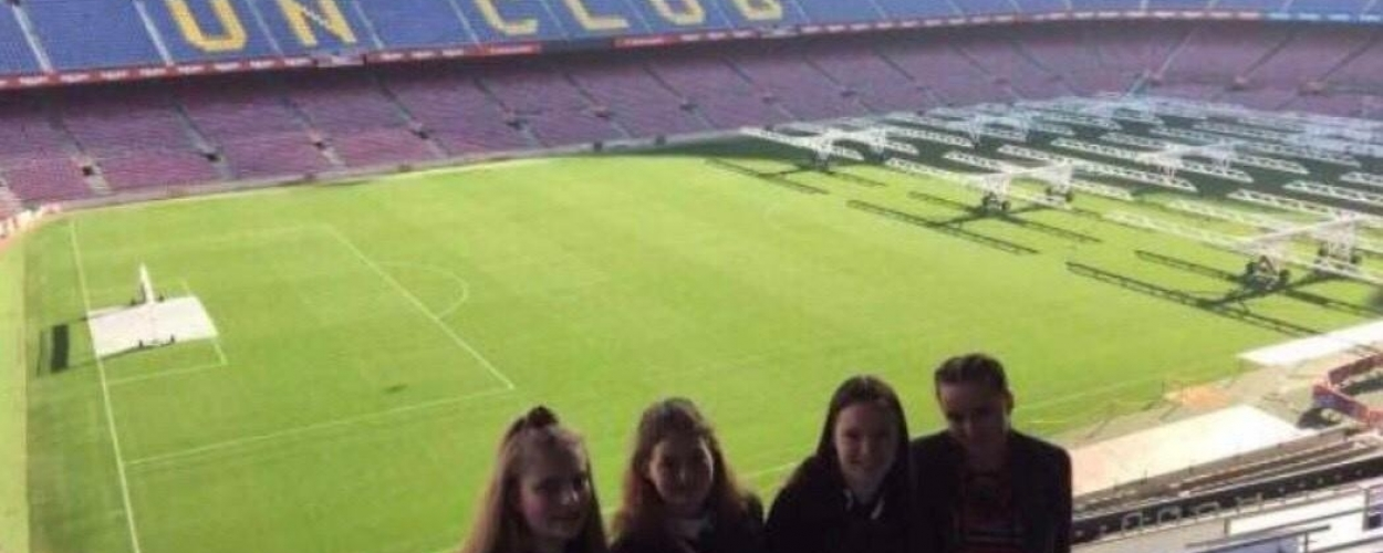 Students enjoy Spain city break