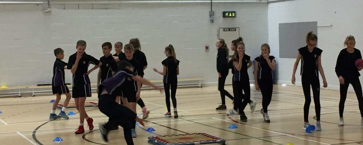 Parkside athletes enjoy Masterclass at Leeds Beckett University