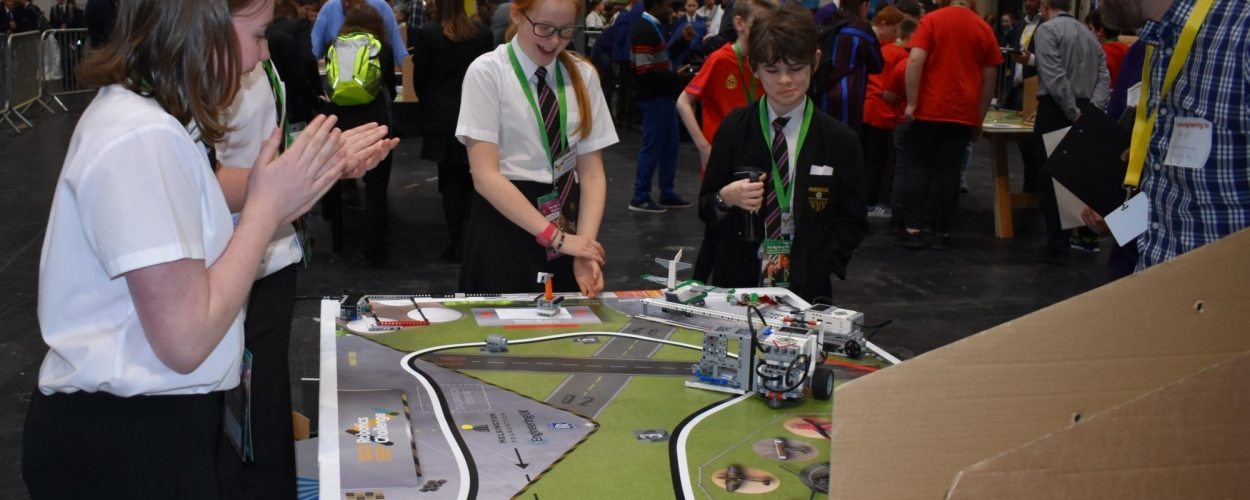 Parkside designs on robot