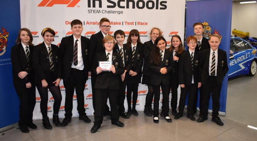 Students first past finishing line in international competition to design racing car