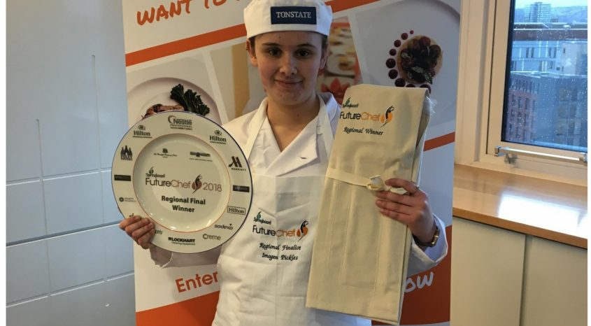 Cullingworth student reaches national finals of Future Chef contest