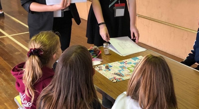 Parkside students pass on language skills to younger children