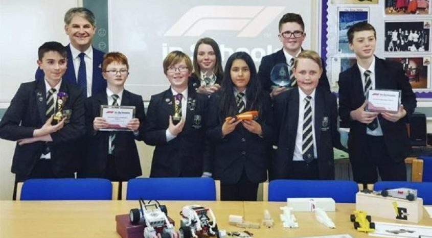 MP's call to support Parkside School's future engineers