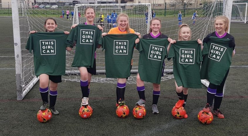 ​U12 and U14 Girls football teams become Bradford Champions!