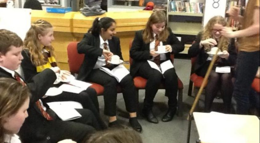 Reading for pleasure encouraged through imaginative events for youngsters at Parkside School