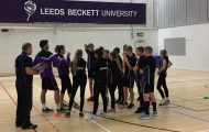 Parkside athletes enjoy Masterclass at Leeds Beckett University