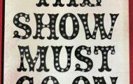 School show - Change of dates