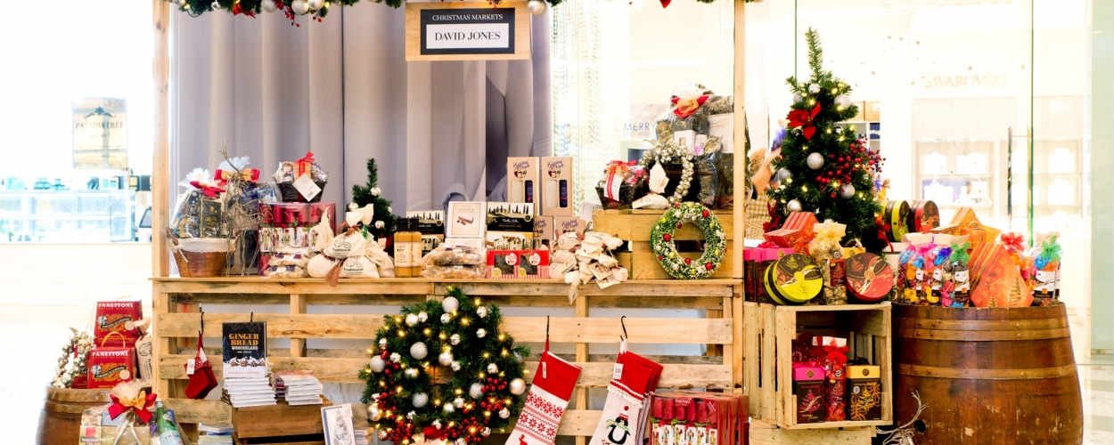 Indoor Christmas Market at Parkside Saturday 24 November 10.30am - 1.30pm