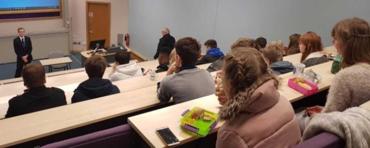 6th Form Maths student get inspired at Leeds Beckett