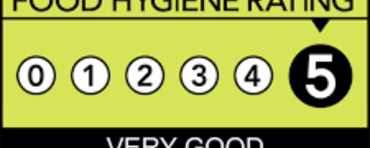 5 Star Rating for the Parkside Kitchen