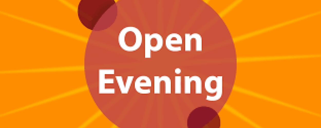 Open Evening for September 2021 Entry