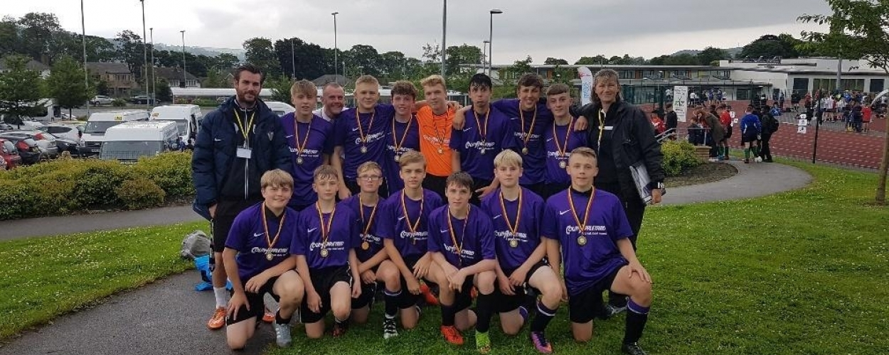 Parkside school celebrate as Bradford football champions