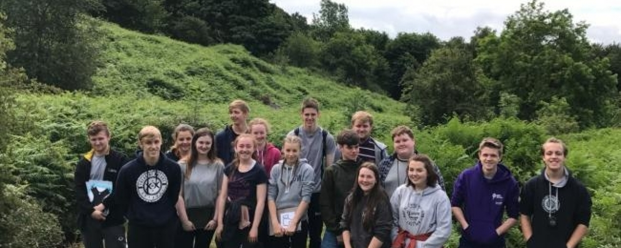 Geographers excel in developing their A level practical skills
