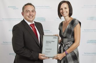 National recognition for Parkside School ASPIRE2b programme