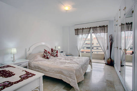 Marbella apartment bedroom