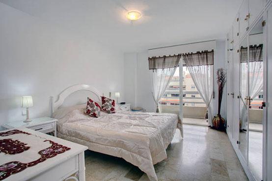 Marbella apartment bedroom