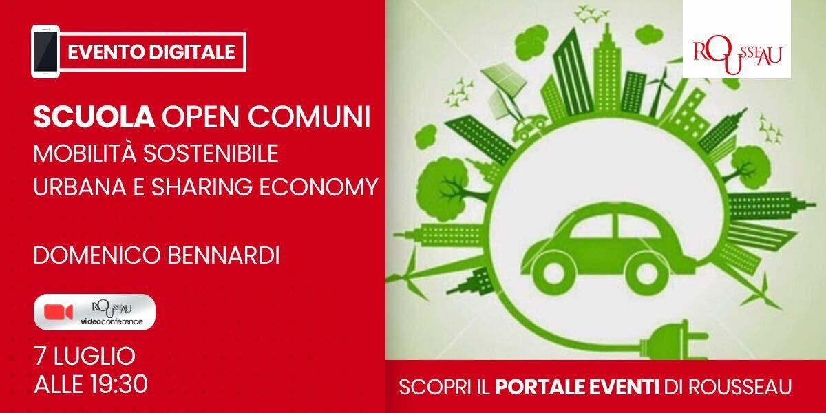 Formazione candidati: Mobilità sostenibile urbana e sharing economy