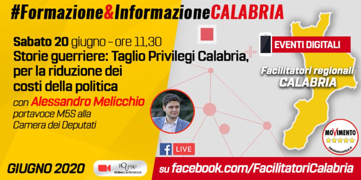 Storie guerriere: Taglio Privilegi Calabria