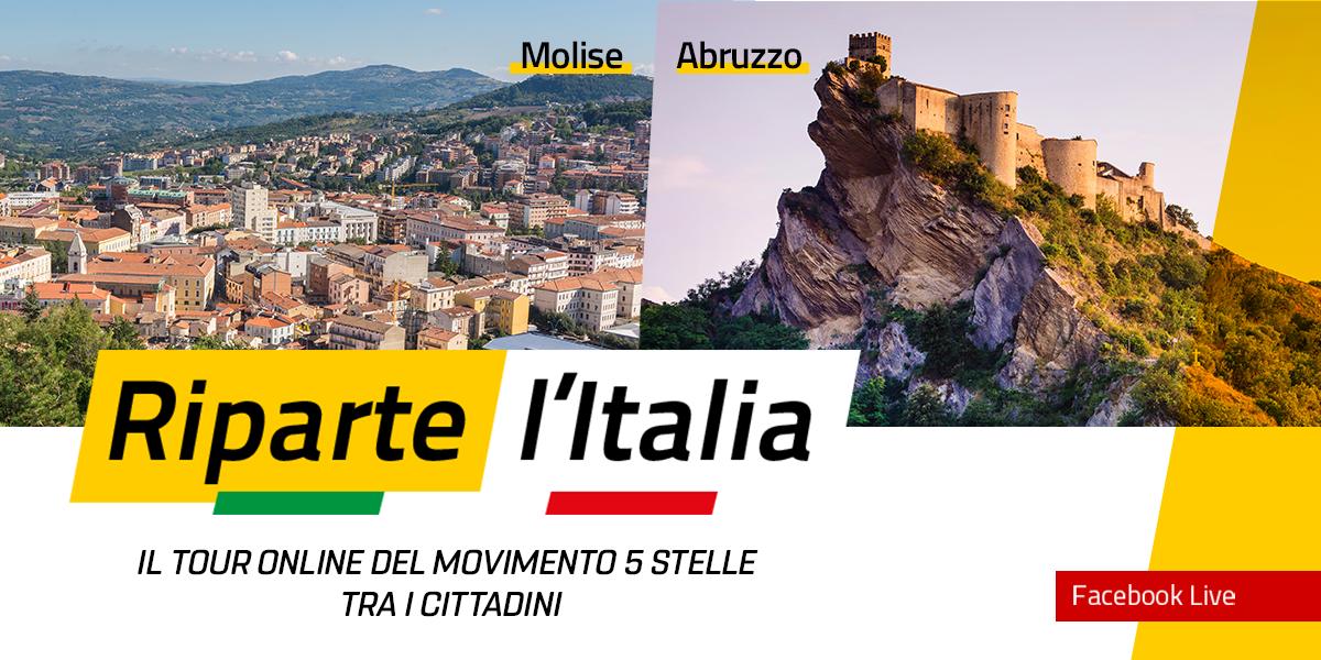 MOLISE e ABRUZZO - Riparte l'Italia