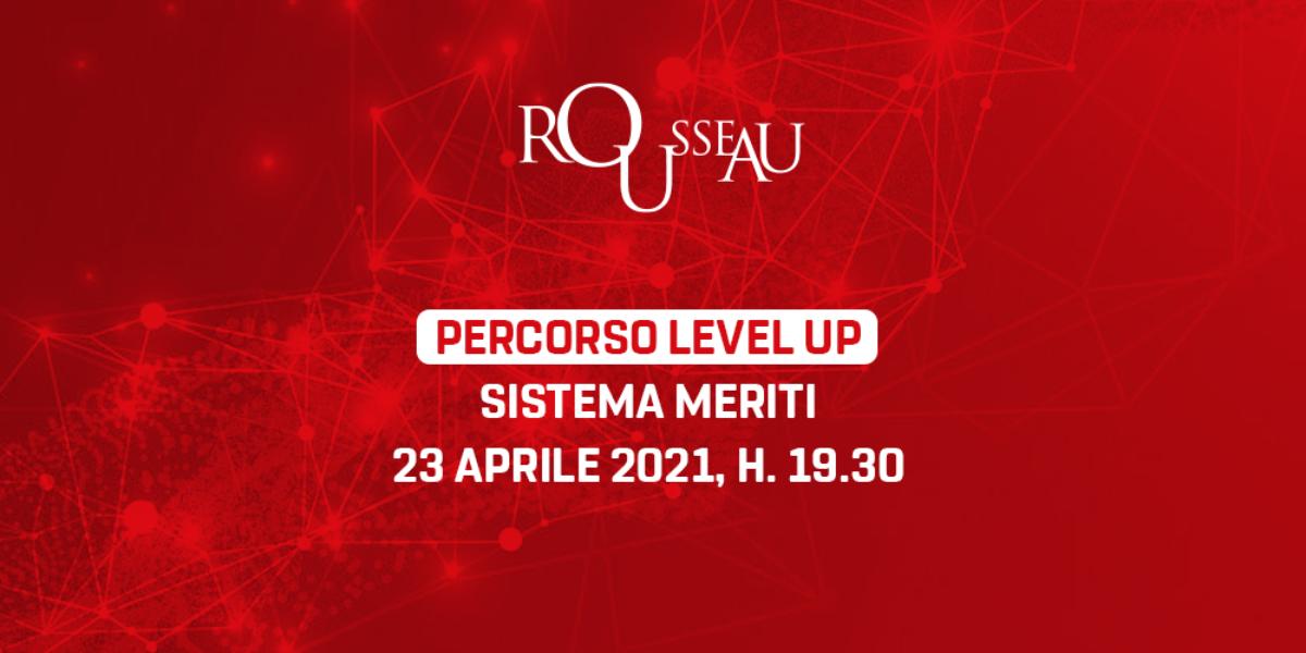 Percorso Level Up - Sistema Meriti