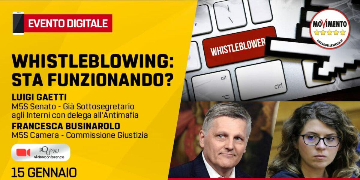 Whistleblowing: sta funzionando?