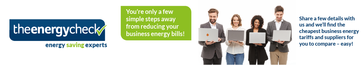 Compare business energy prices online