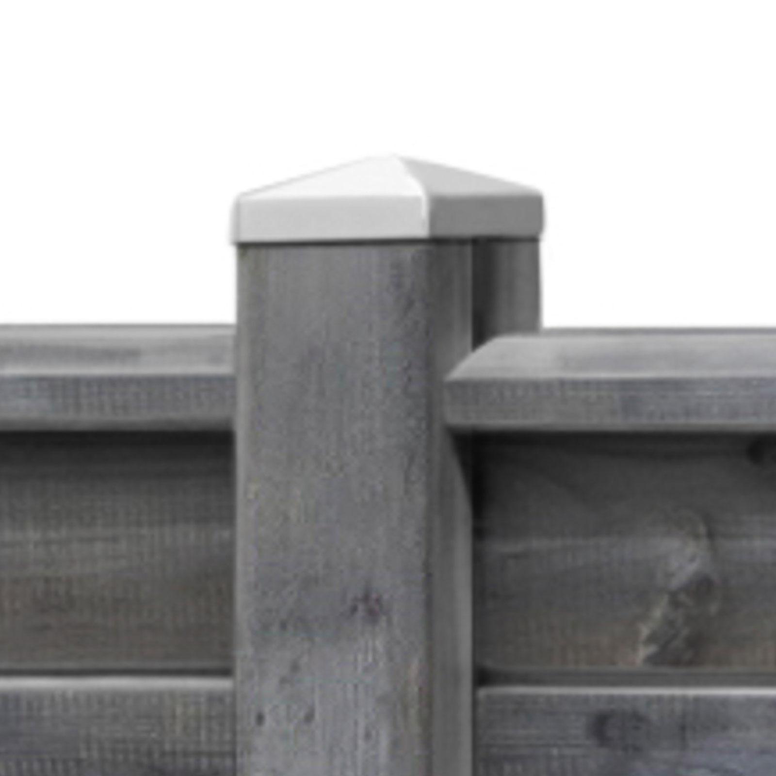Holzzaun Sichtschutzzaun 180x180 Lamellenzaun Gartenzaun Steckzaun Grau Braun Ebay