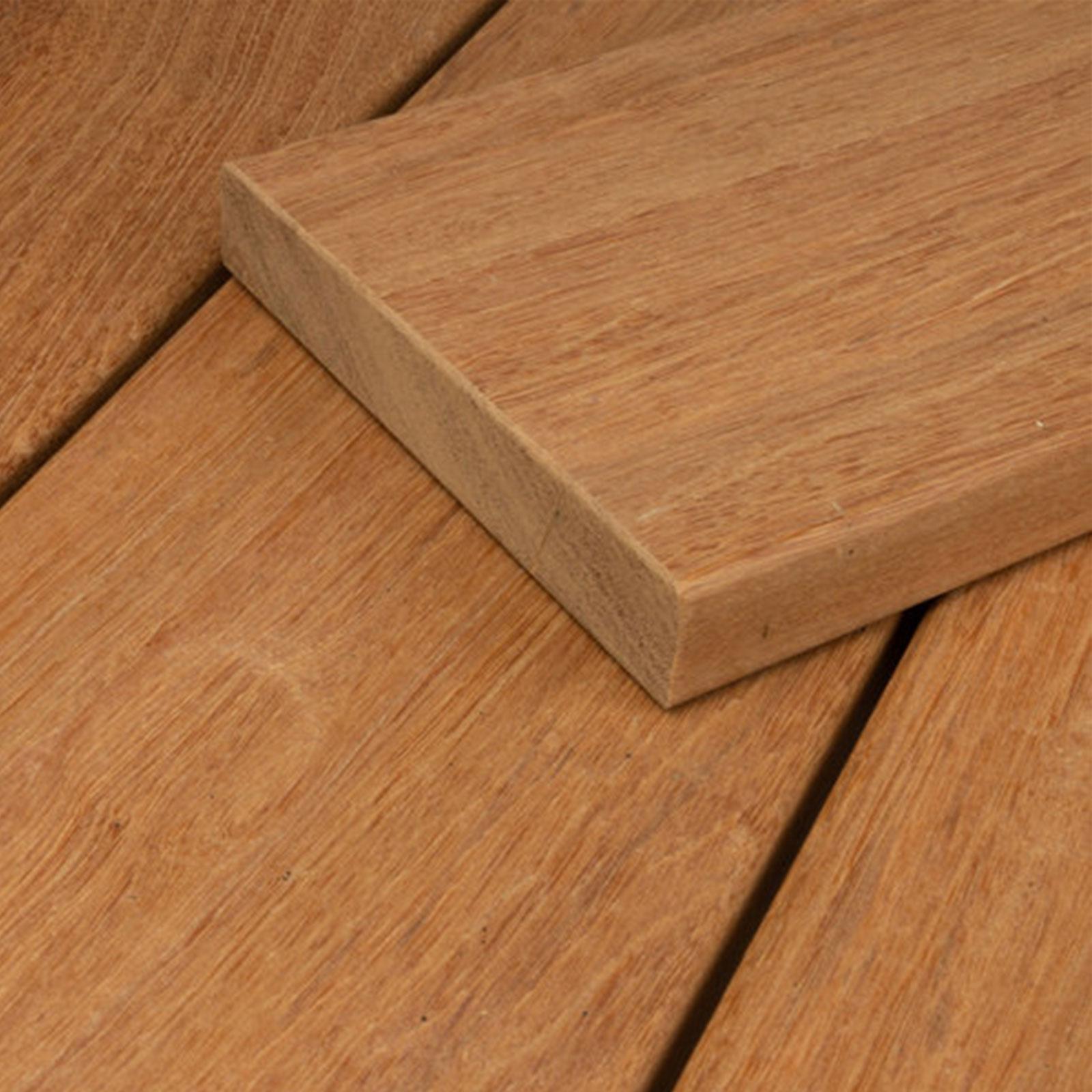 HORI Bangkirai Terrassendielen Komplettset Premium Holz Terrasse ...