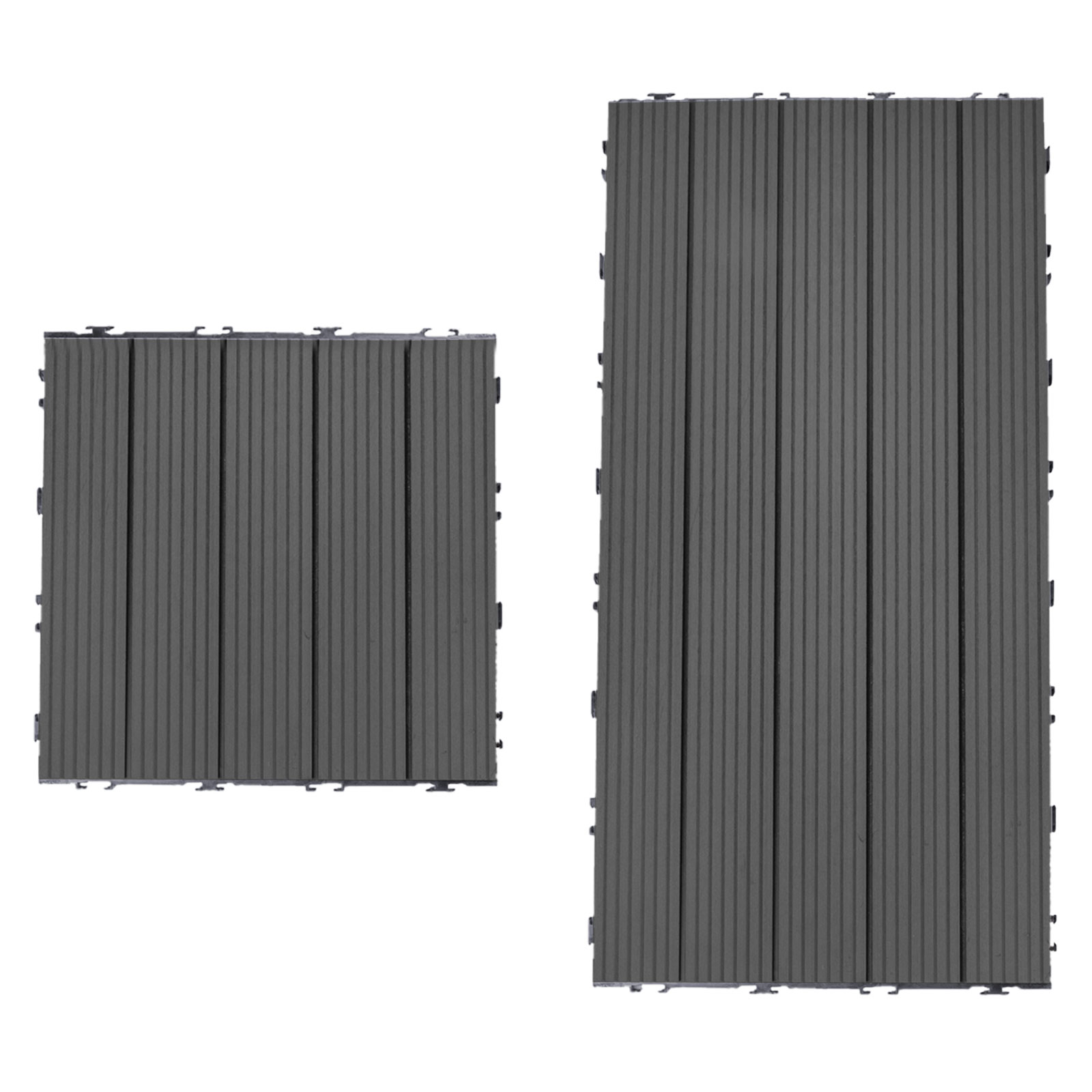 Terrassenfliesen-WPC-Klickfliesen-Balkonfliese-Holzfliese-Kunststoff Indexbild 2