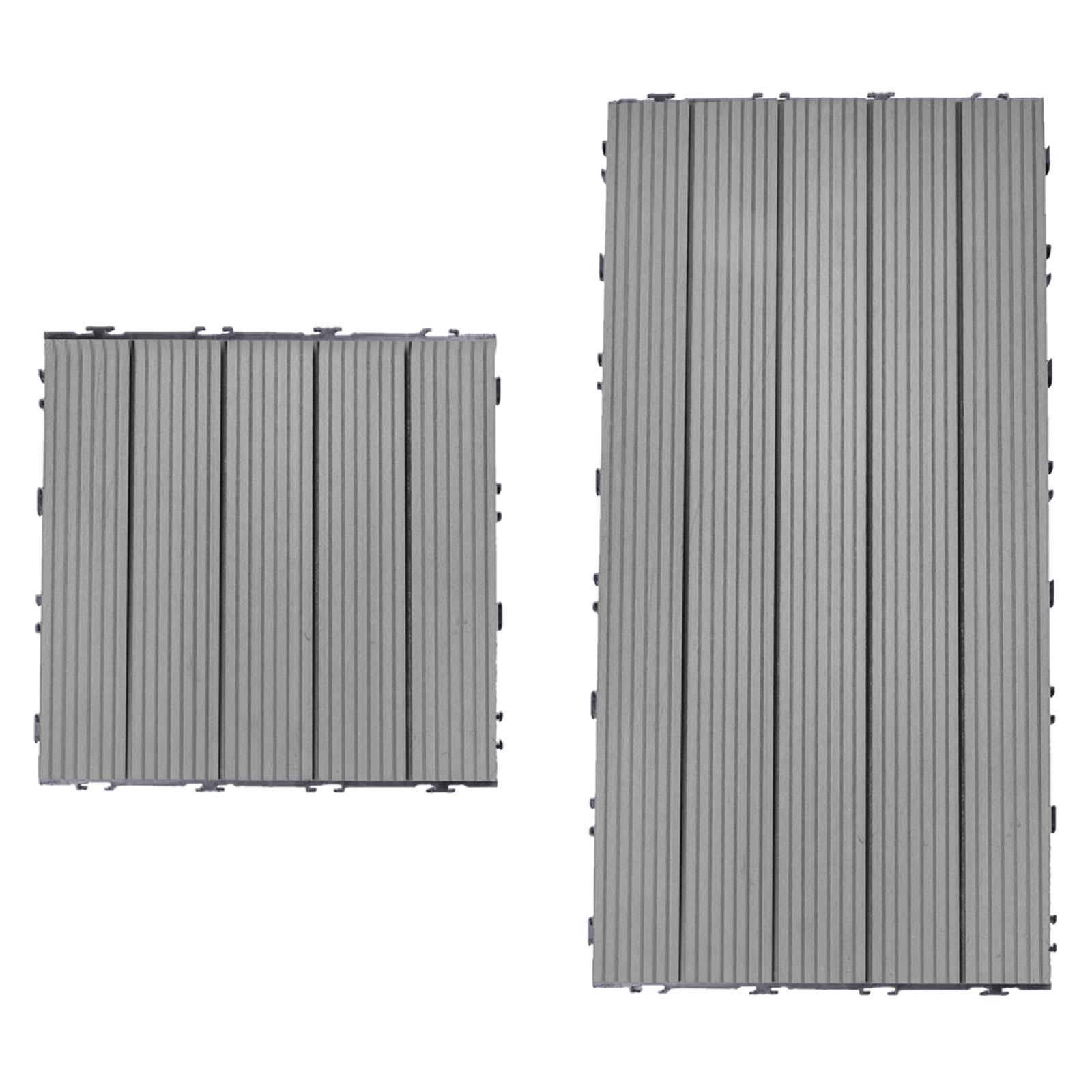 Terrassenfliesen-WPC-Klickfliesen-Balkonfliese-Holzfliese-Kunststoff Indexbild 4