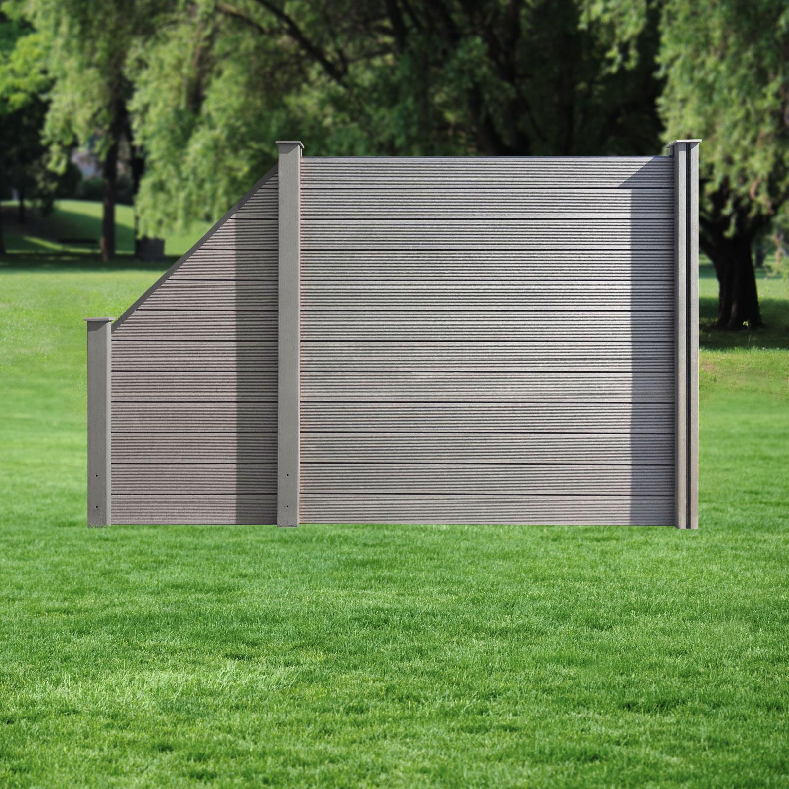 Muster I Wpc Sichtschutz Zaun Lamellenzaun Gartenzaun Terrasse