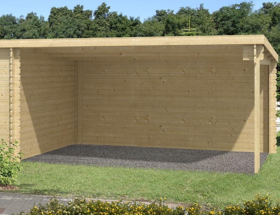 lasita maja gartenhaus st louis 28 mm 292 x 701 cm. Black Bedroom Furniture Sets. Home Design Ideas