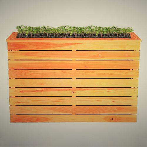 Hori Hochbeet Pflanzenbeet Gemusebeet Naturholz Larche Verschiedene