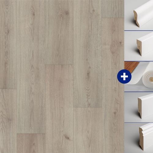 klick laminat boden holzboden ambiente family mit fase. Black Bedroom Furniture Sets. Home Design Ideas