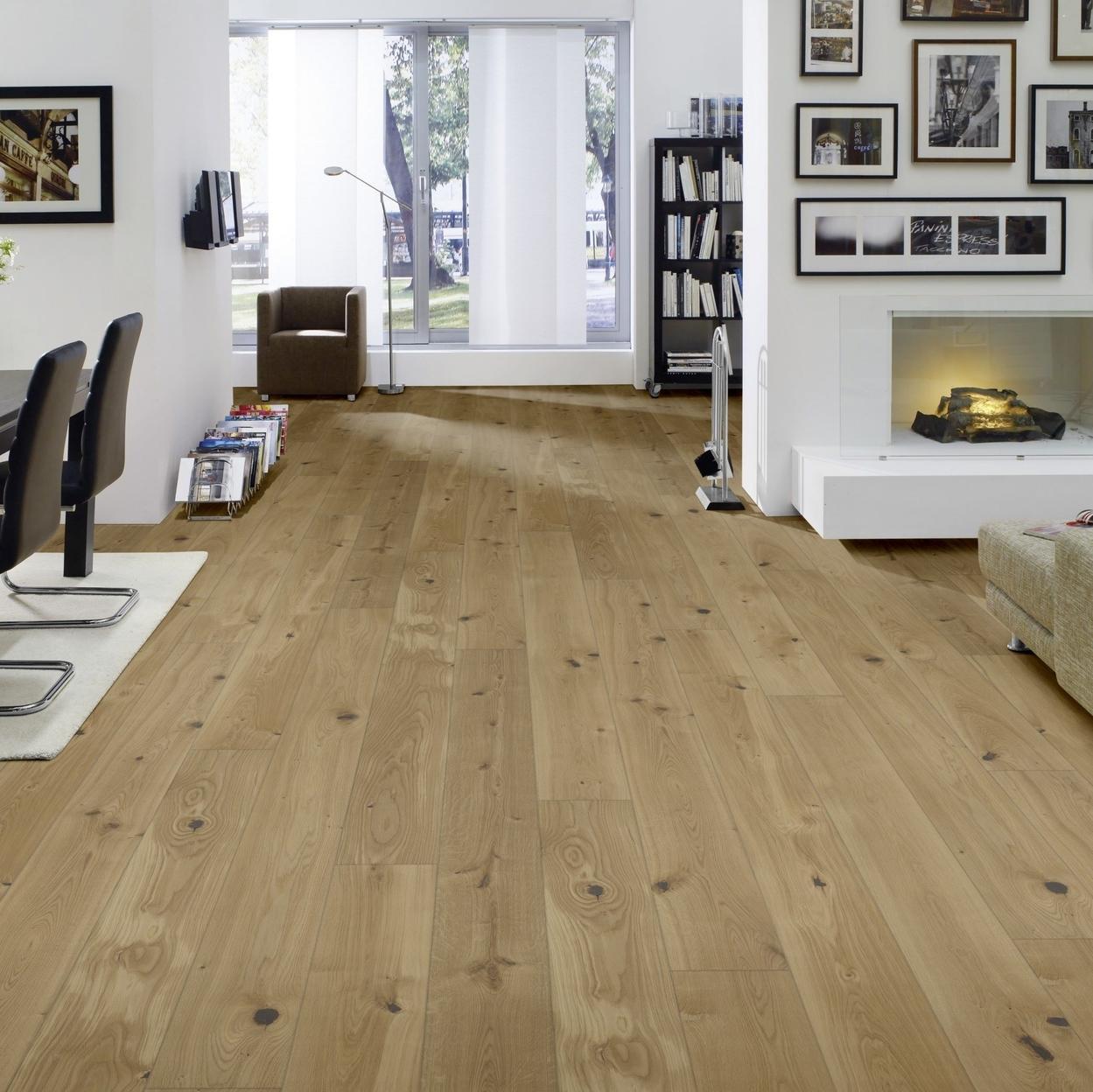 hori parkett 300 eiche cottage landhausdiele 1 stab mit fase versiegelt ebay. Black Bedroom Furniture Sets. Home Design Ideas