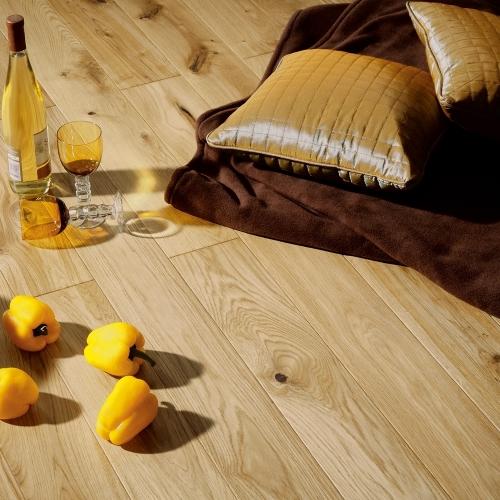 hori parkett parkettboden holz eiche natur versiegelt mit fase d mmung leisten ebay. Black Bedroom Furniture Sets. Home Design Ideas