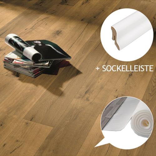 hori parkett eiche vintage sandgrau parkettboden mit fase d mmung leisten ebay. Black Bedroom Furniture Sets. Home Design Ideas