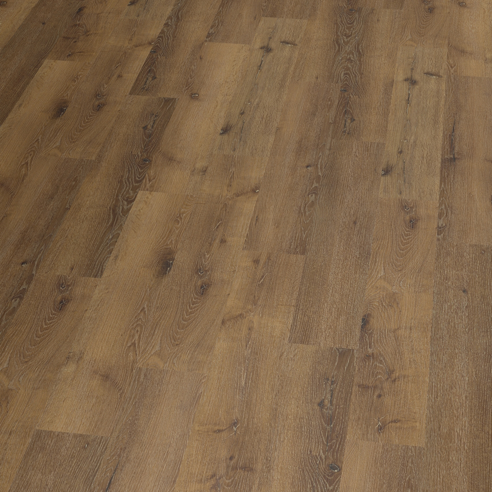 Vinylboden PVC Klick Bodenbelag Eiche Basic Nürnberg rustik Dämmung Leisten