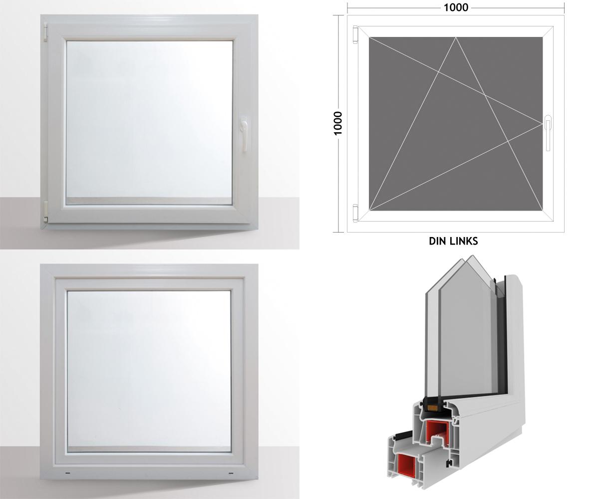 hori fenster kunststoff dreh kipp kellerfenster 2 fach. Black Bedroom Furniture Sets. Home Design Ideas