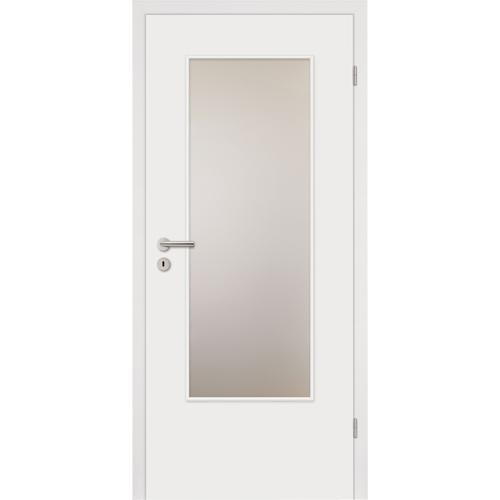 Zimmertür weißlack  HORI Zimmertür CPL Weißlack Röhrenspan kleine Rundkante | Tür ...