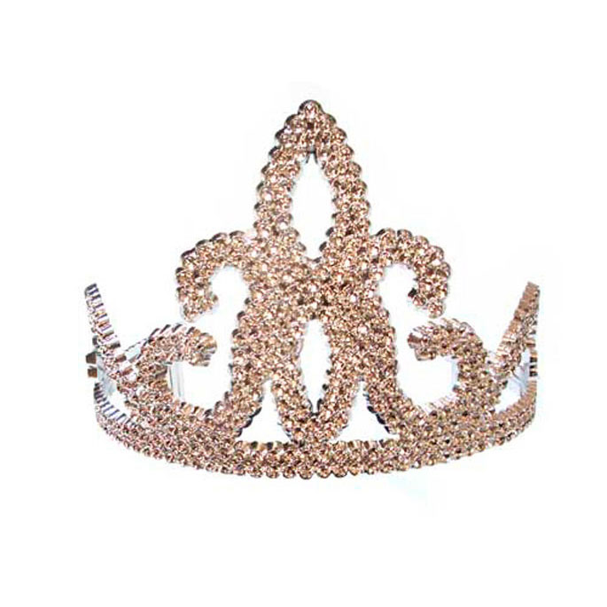 glitter tiara