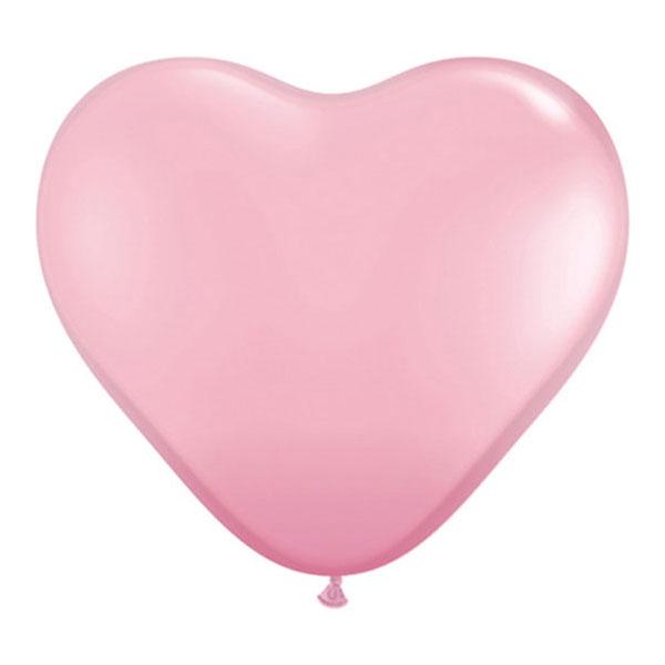 heart balloons pink