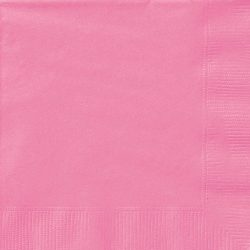 plain hot pink napkins