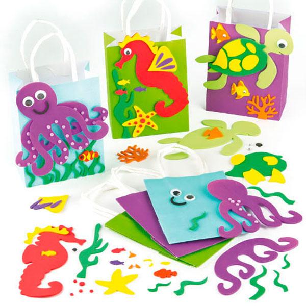 sealife party bag craft kit